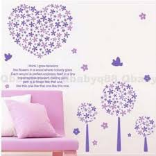 Purple Wall Decals For Nursery Inspiring For Decoration Purple Wall Decal For Nursery Purple