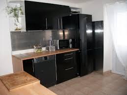 cuisine noir et cuisine bois et noir meilleur idées de conception de maison