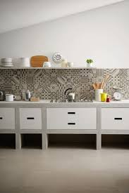 Cement Tile Backsplash by Cemented In My Heart The Use Of Cement Tile Concept Ii