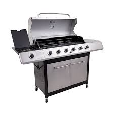 amazon com char broil classic 6 burner gas grill freestanding