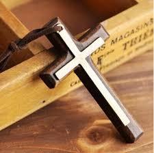 wholesaler wooden crosses wooden crosses wholesale wholesale double wooden cross pendant necklace vintage alloy leather