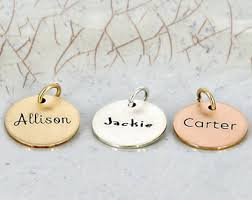 personalized charms bulk personalized charm etsy