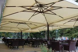 Custom Patio Umbrellas by Large Patio Umbrellas Outdoor Shade Umbrellas U0026 Best Cantilever