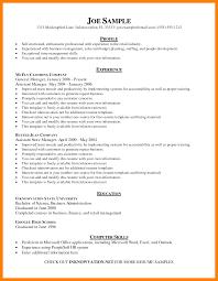 Basic Resume Skills 5 Basic Sample Resume Skills Skill In Resume