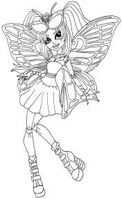 coloring pages monster coloring pages elfkena