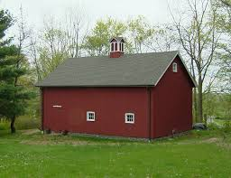 Barn Roof by New England Barn Ridgefield Queenpost Barn