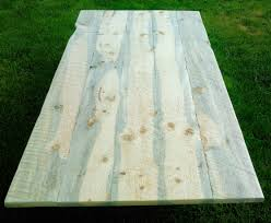 unfinished rough lumber table top lodgepole pine aka blue pine