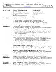 undergraduate curriculum vitae pdf exles resume exles for students resumes sle with work experience