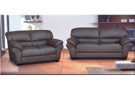 Leather Settees Uk Candy 3 2 Seater Faux Leather Sofa Brown Uk Sofas