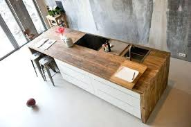 poser plan de travail cuisine plan de travail bar cuisine plan de travail et table de bar en