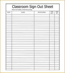 Sign In Out Sheet Template 10 Sign In Sign Out Sheet Academic Resume Template