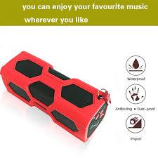 elegiant bluetooth speaker rechargeable power bank nfc outdoor