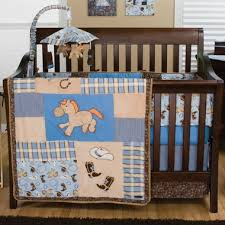 cowboy nursery bedding trend lab cowboy baby 4 piece crib bedding set free shipping