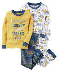 4 pajamas toddler boy s