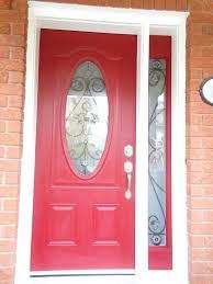 front doors i want to paint my front door red paint front door