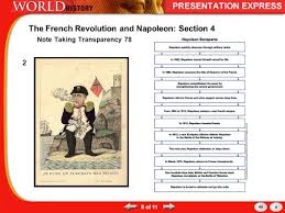 napoleon history quote in french the revolution exported ppt download