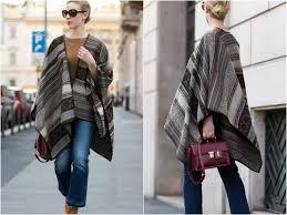 Collection La Fee Maraboutee Milan Fashion Week Ss17 Patterned Poncho U0026 Simonetta Ravizza Show