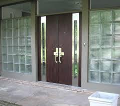 Exterior Door Knob Sets by Front Door Centre Knobs Atlas Exterior Set Mid Century Modern