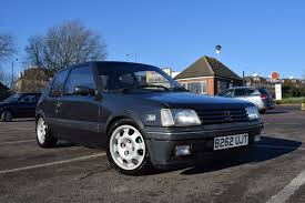 peugeot cars 1985 1985 peugeot 205 gti mi16 converted 4500 north london retro