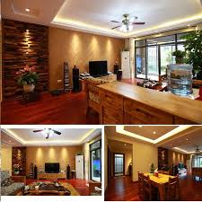 natural 3d wood wall panel fireplace wall deco tile kitchen