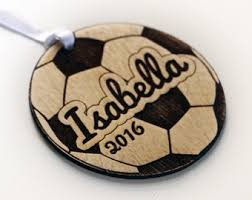 soccer ornaments to personalize custom state christmas ornament california