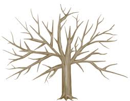 fall tree outline clipart library clip art library