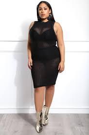 She U0027s The Boss Plus Size Midi Tank Dress Gs Love
