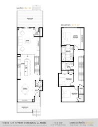 Infill House Design Edmonton Modern arch Pinterest