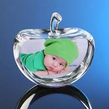 baby photo album 60mm glass apple model photo album diy customized