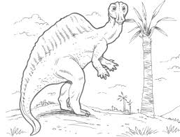 ouranosaurus dinosaur coloring page free coloring pages online