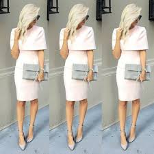 find a elegant short light pink peach evening dresses with wrap