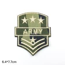 Flag Badges Embroidered Air Force Badge Army Badge Patch Master Sergeant Rank Patch