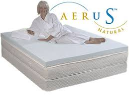 aerus natural 2 inch 3 inch and 4 inch memory foam toppers