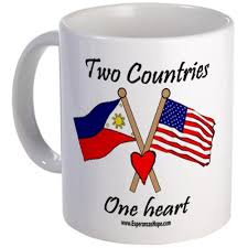 cafepress two countries one heart philippines mug unique