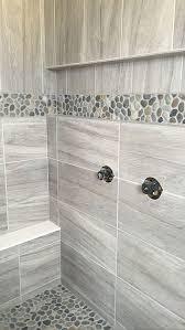 inspiring bathroom best 25 river rock ideas on pinterest tile at