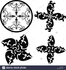 tribal tattoos design stock vector illustration vector