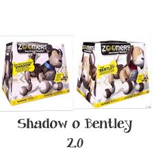 zoomer shadow zoomer dog perro robot interactivo 2 0 shadow o bentley