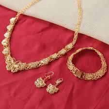 gold jewelry necklace sets images 24k gold pretty dubai african jewelry nigerian wedding habesha set jpg