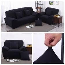 housse canapé en cuir housse pour canape et fauteuil cuir achat vente pas cher