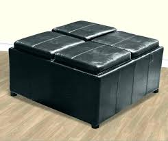 Leather Coffee Table Storage Black Leather Coffee Table Loremipsum Club