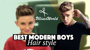 how should an 11year old boys hair look like best modern boys hair style modern messy quiff youtube