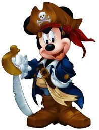 pirate mickey head clipart collection