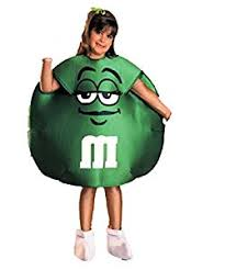 m m costume m m s green small 4 6 child size costume by rubie s
