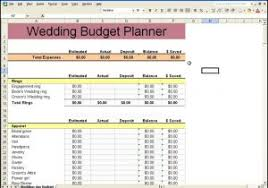 wedding budget planner wedding budget planner spreadsheet wedding checklist spreadsheet