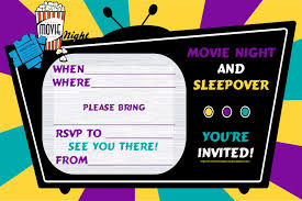 sleepover birthday invitations u2013 gangcraft net