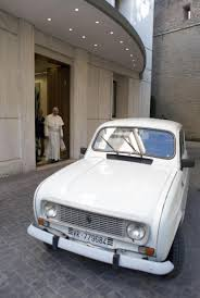 old renault pope francis plans to drive used car around vatican city by