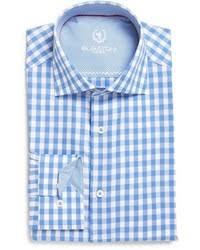 men u0027s light blue gingham dress shirts from nordstrom men u0027s fashion