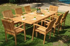 Best Wood For Outdoor Table by Buying Tips For Choosing The Best Teak Patio Furniture Teak