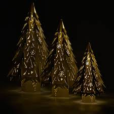 large laser cut christmas trees from the hanging lantern company