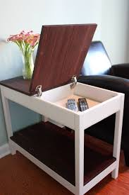 best 25 end tables with storage ideas on pinterest side table for
